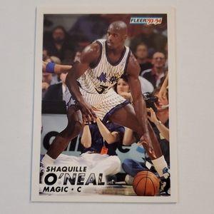 Fleer- Shaquille O'Neil ROOKIE Card